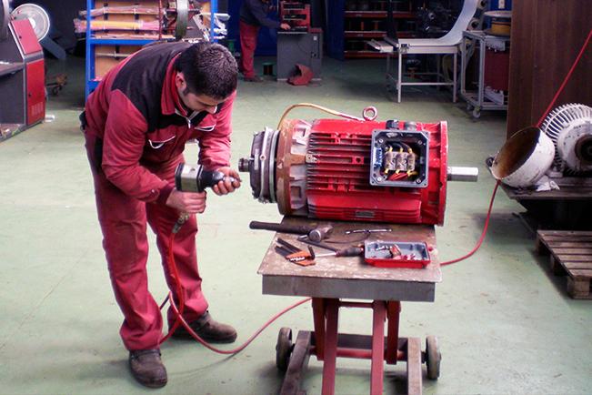 reparación de motores 2